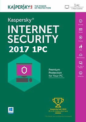 Kaspersky Internet Security 2018 dành cho 1PC