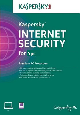 Kaspersky Internet Security 2018 dành cho 5PC